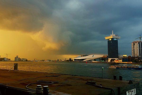 Zomerwarmte en onweer